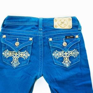 Miss Me kids cropped jeans